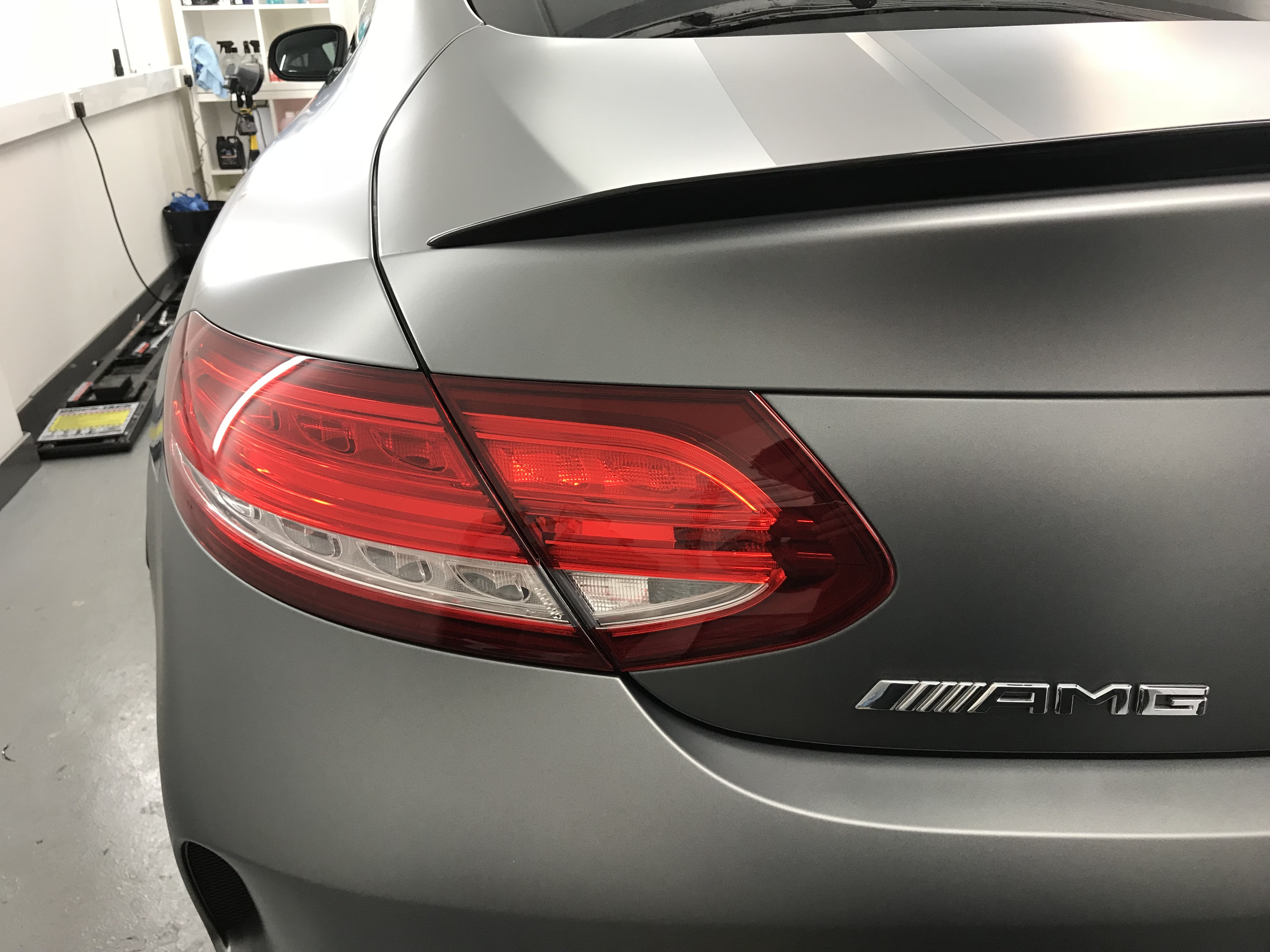 Light Tinting Car Wrapping Car Detailing And Window
